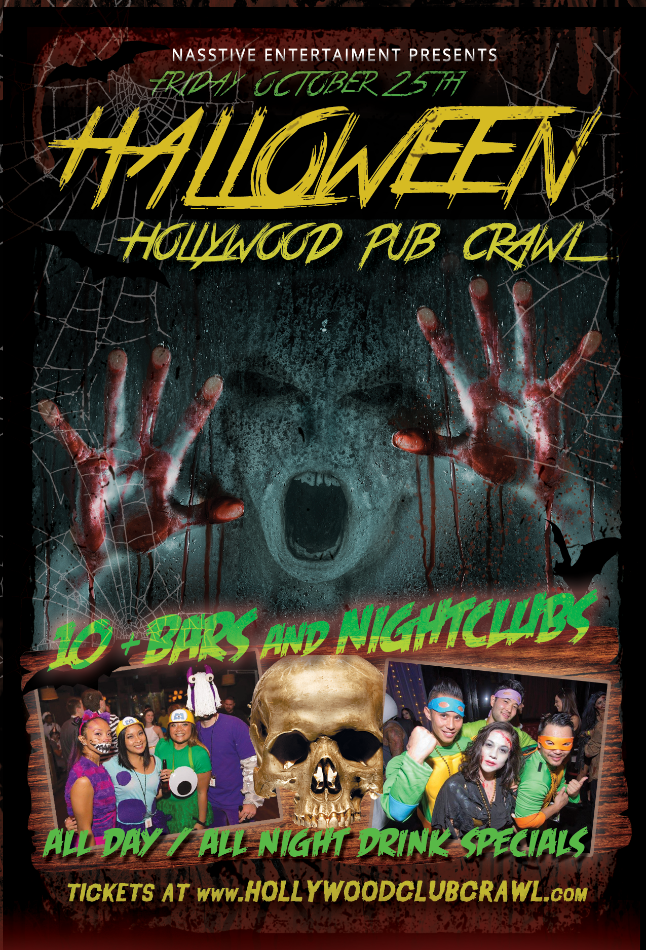 The Study Hollywood Halloween 2020 Halloween Events – Hollywood Club Crawl