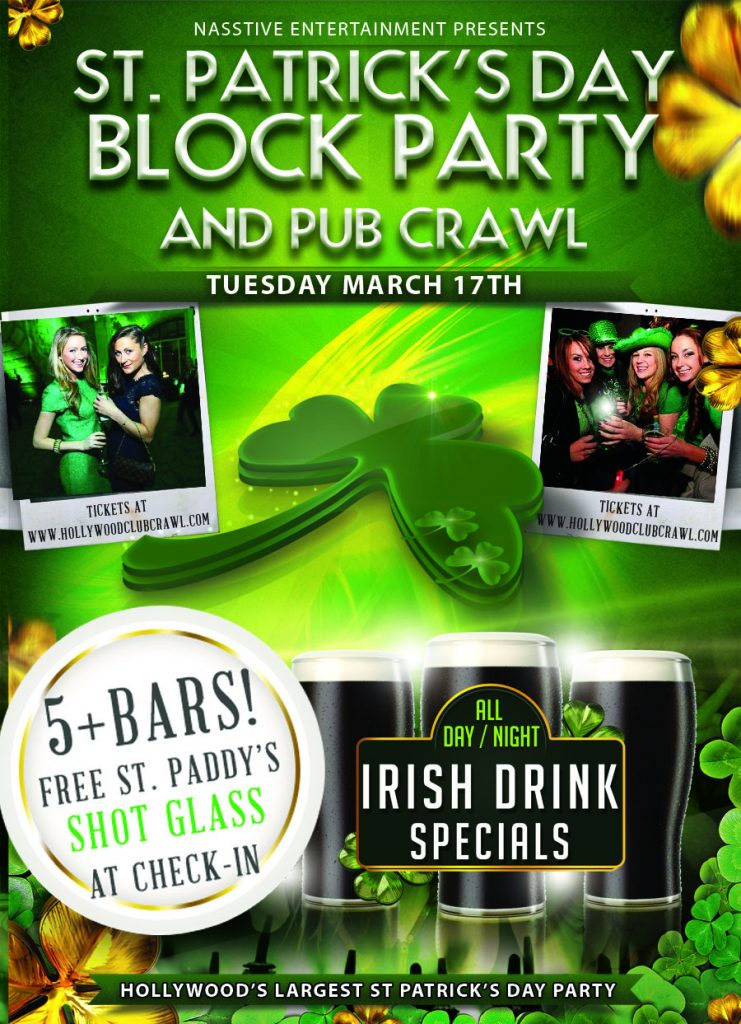 St. Paddy's Day flyer Block Partysmall