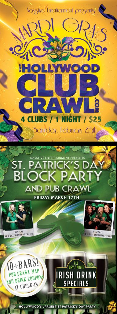 HCC St Pats and Mardis Gras