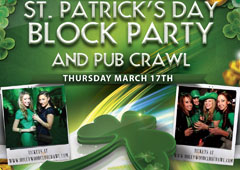 St. Patricks Day Hollywood Pub Crawl featured image