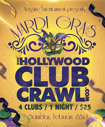 MARDI GRAS CLUB CRAWL